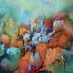 Suzette-Kunst, CIMG5324 (2), 'Hidden dwellings', acryl op doek, 50 x 60