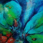 Suzette-Kunst, 40 x 50, acryl op board