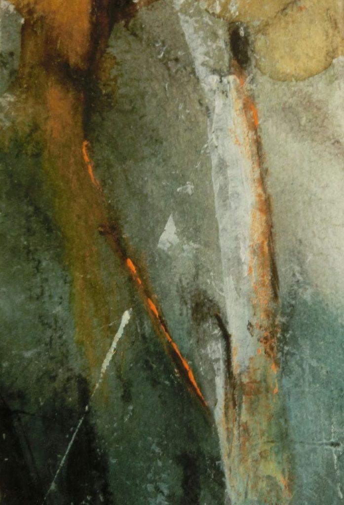 suzette-kunst.nl, berk, acryl op papier op MDF, 9 x 6