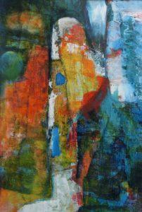 suzette-kunst.nl, kleurklanken 1, acryl op papier, 32 x 49