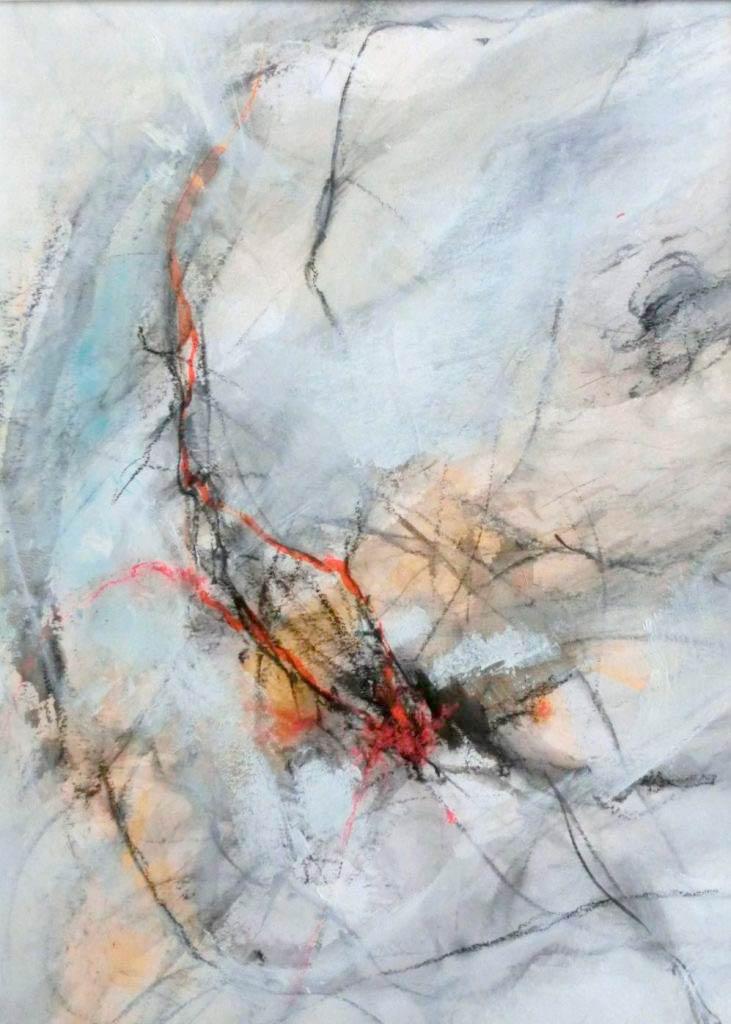 suzette-kunst.nl, zonder titel, houtskool, inkt en pastel, 30 x 40
